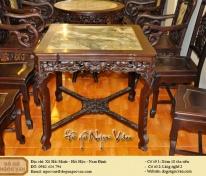 Bộ bàn ăn gỗ gụ
